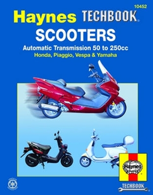 Scooters, Automatic Transmission 50 to 250cc