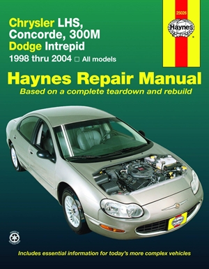 Chrysler LHS,Concorde,300M,Dodge Intrepid, 1998-2004