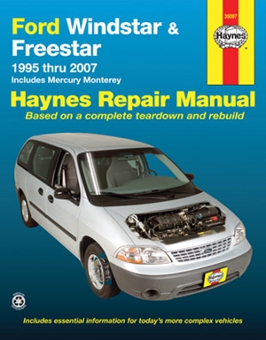 Ford Windstar & Freestar 1995 thru 2007