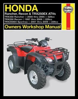 Honda Rancher, Recon & TRX250EX ATV's