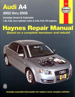 Audi A4  2002 thru 2008
