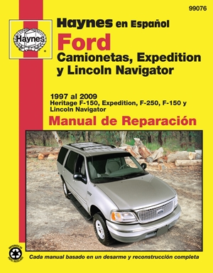 Ford Camionetas, Expedition y Lincoln Navigator Manual de Reparacion