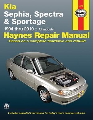 Kia Sephia, Spectra and Sportage