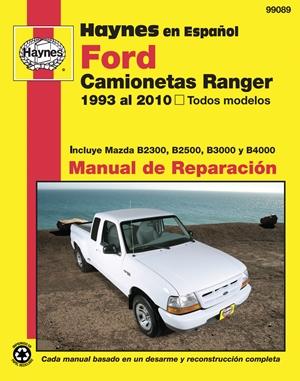 Ford Camionetas Ranger Manual de Reparacion