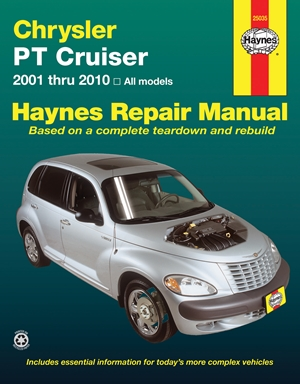 Chrysler PT Cruiser 2001 thru 2010 Haynes Repair Manual