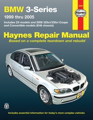 BMW 3-Series 1999-2005 Haynes Repair Manual