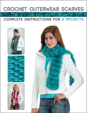 Crochet Outerwear Scarves