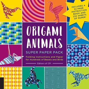 Origami Animals Super Paper Pack