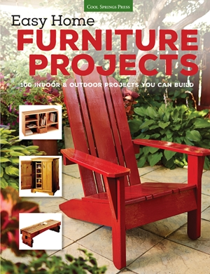 Cover of Easy Home Furniture Projects 9781591866695