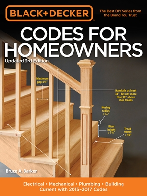 Black & Decker Codes for Homeowners, Updated 3rd Edition