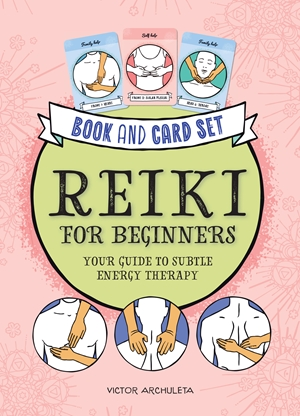Press Here! Reiki for Beginners Book and Card Set