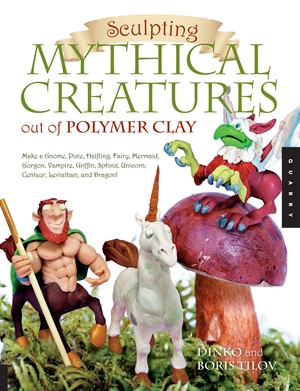 Sculpting Mythical Creatures out of Polymer Clay