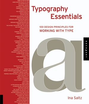Typography Essentials 100 Design Principles for Working with Type