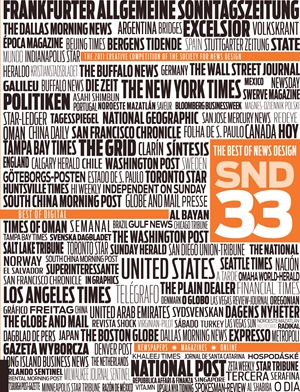 The Best of News Design 33rd Edition