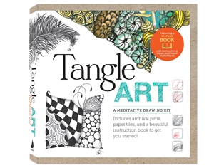 Tangle Art A Meditative Drawing Kit