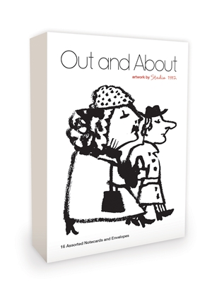 Out and About Note Cards Artwork by Studio 1482