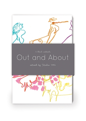 Out and About Artwork by Studio 1482 Journal Collection 2