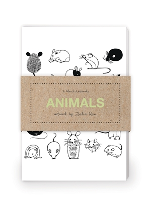 Animals Artwork by Julia Kuo Journal Collection 1