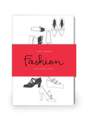 Fashion Illustration Artwork by Maite LaFuente Journal Collection 1