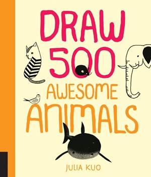 Draw 500 Awesome Animals