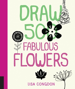 Draw 500 Fabulous Flowers