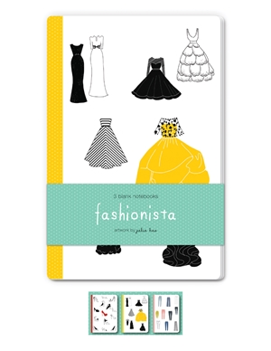 Fashionista Blank Notebooks