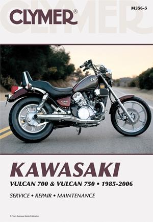 Kawasaki Vulcan 700 & Vulcan 750 1985-2006
