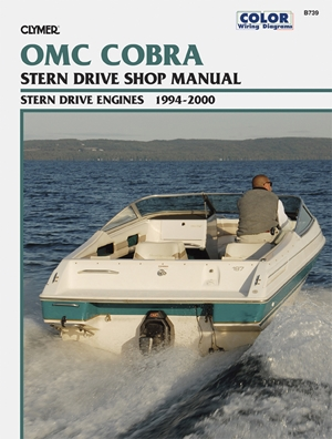 OMC Cobra SX Stern Drive Engines 1994-2000