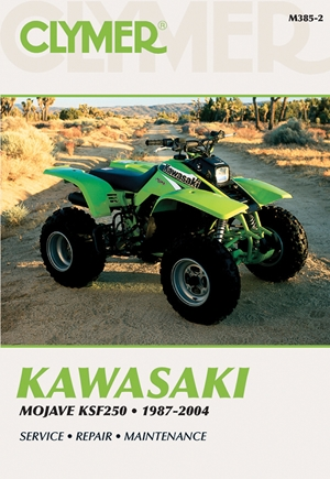 Kawasaki Mojave KSF250 1987-2004