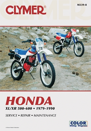 Honda XL/XR 500-600 1979-1990