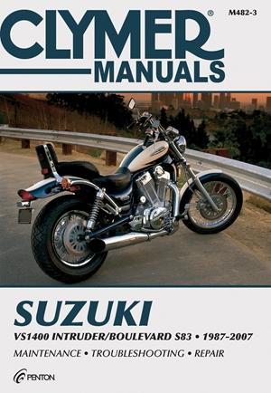 Suzuki VS1400 Intruder/Boulevard S83 1987-2007
