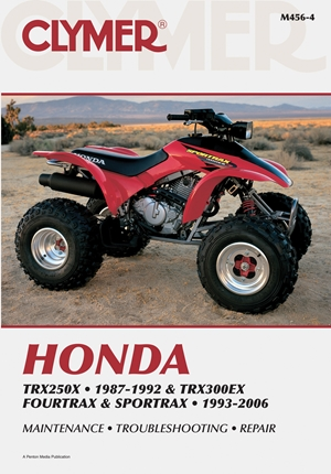 Honda TRX250X 87-92 & TRX300EX Fourtrax and Sportrax 93-06