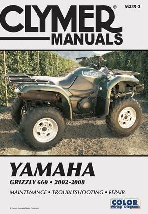 Yamaha Grizzly 660 2002-2008