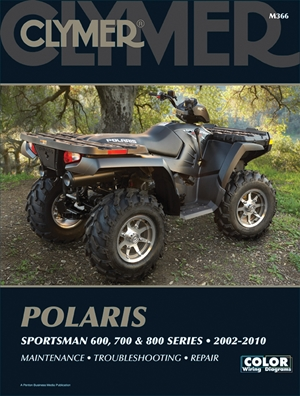 Polaris Sportsman 600, 700, & 800 Series 2002-2010