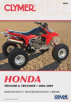 Honda TRX450R and TRX450ER  2004-2009