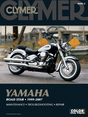 Yamaha Road Star 1999-2007 Manual does not cover XV1700P War