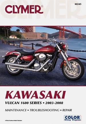 Kawasaki Vulcan 1600 Series 2003-2008