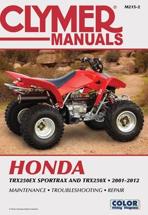 Honda TRX250EX Sportrax & TRX250X 2001-2012