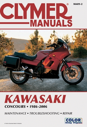 Kawasaki ZG1000 Concours 1986-2006