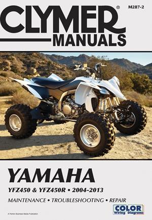 Yamaha YFZ450 & YFZ450R 2004-2013