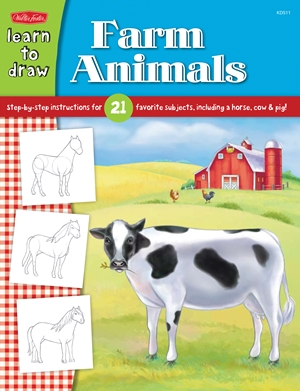 Learn to Draw Farm Animals