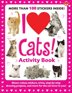 I Love Cats! Activity Book