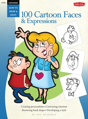 Cartooning 100 Cartoon Faces & Expressions