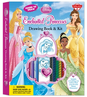 Learn to Draw Disney's Enchanted Princesses Drawing Book & Kit