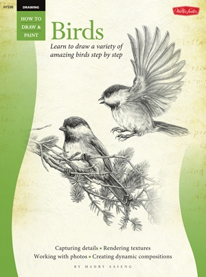 Drawing: Birds Learn to draw a variety of amazing birds step by step