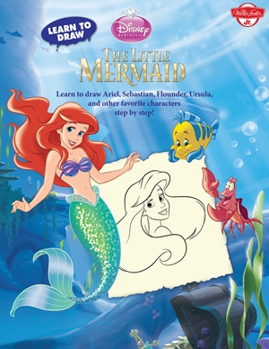 Learn to Draw Disney's The Little Mermaid