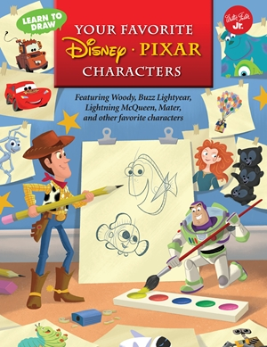 Learn to Draw Your Favorite Disney*Pixar Characters