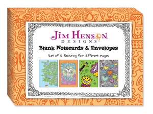 Jim Henson Designs: Blank Notecards & Envelopes