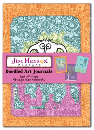 Jim Henson Designs: Doodled Art Journals