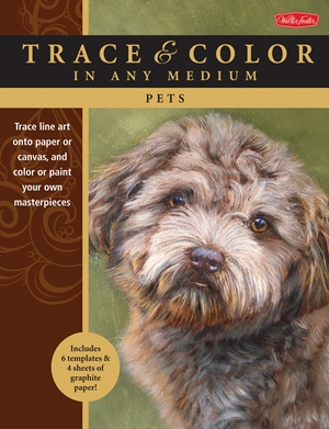 Pets Trace line art onto paper or canvas, and color or paint your own masterpieces